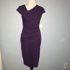 Calvin Klein  sz 2 Purple Sleeveless Dress